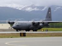 Polish Air Force C-130E Hercules Transport Aircrafts