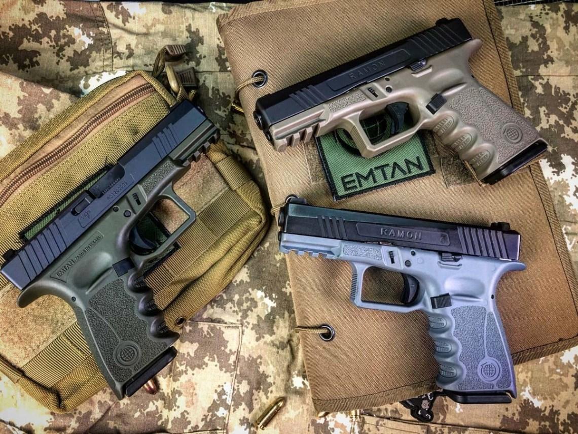 EMTAN Ramon Polymer Frame Striker Pistol.