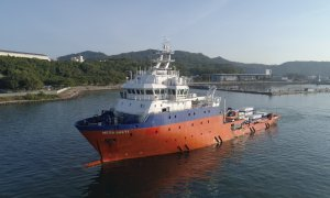 Royal Malaysian Navy Dispatches Submarine Rescue Vessel to Help Search for Indonesian Submarine