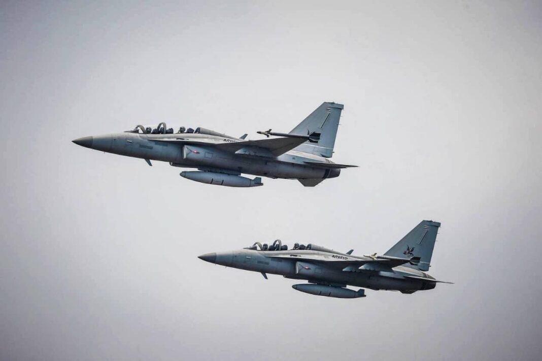 Royal Thai Air Force T-50TH Golden Eagle advanced jet trainer