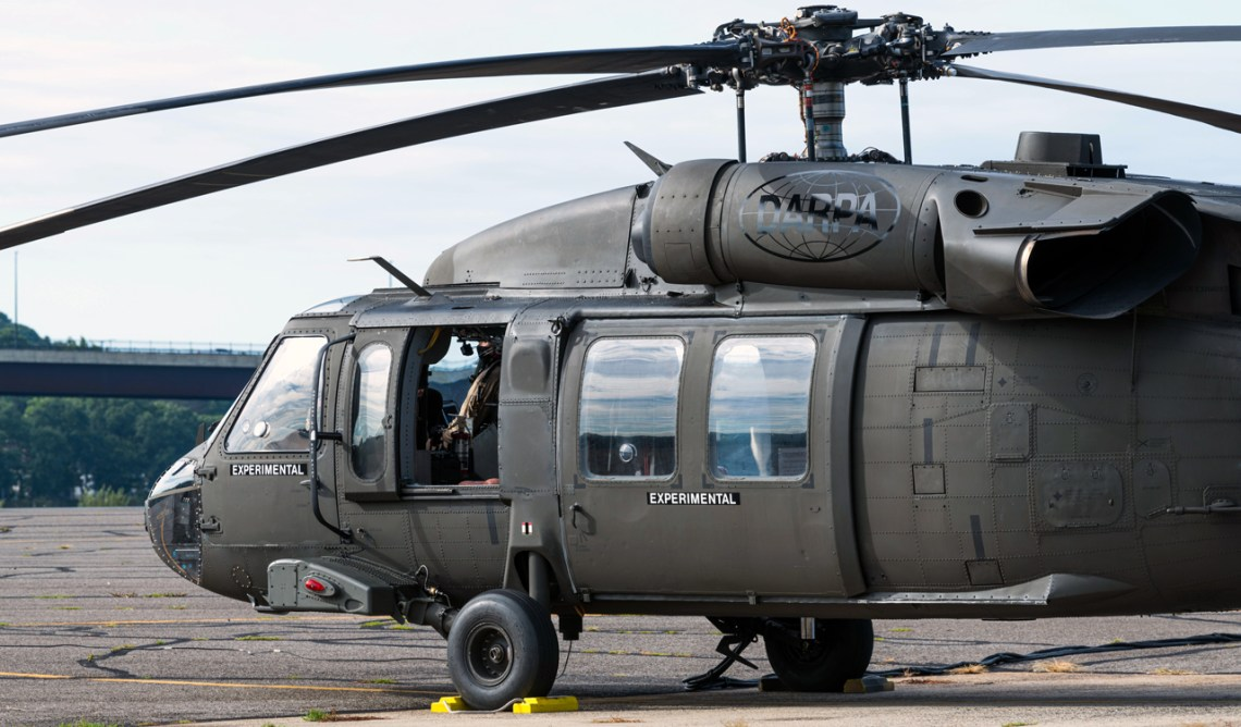 Sikorsky and DARPA Fly OPV Black Hawk with Supervised Autonomy