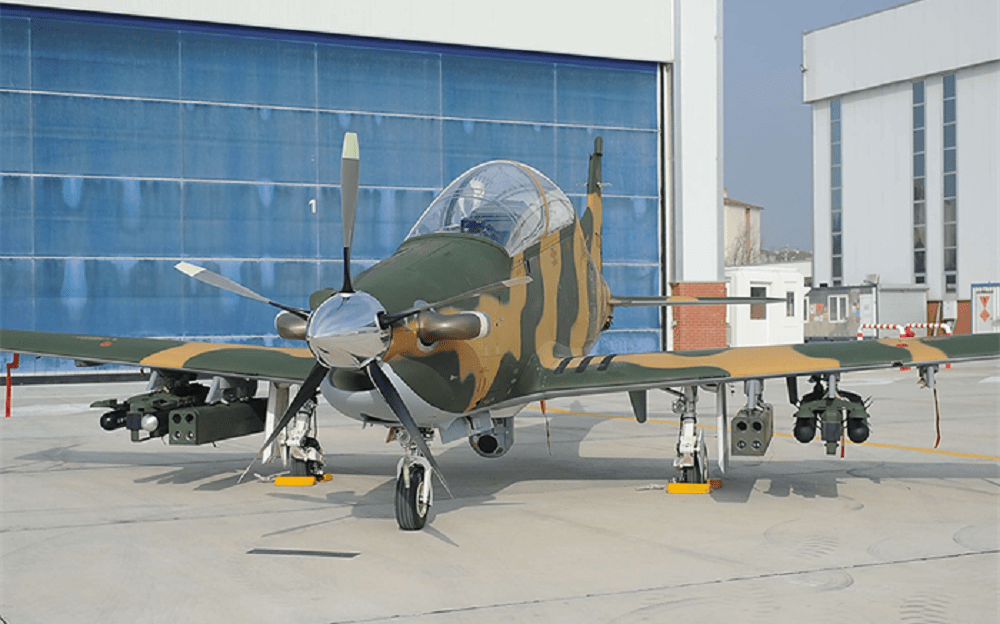 Turkish Aerospace Industries (TAI) Hürküş-C Counter-insurgency Aircraft