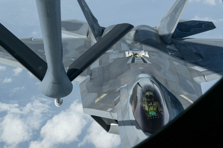 US Air Force F-22 Raptors Complete Dynamic Force Employment Operations Out of Iwakuni