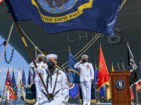 US Navy Decommissions USS Bonhomme Richard (LHD-6)