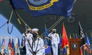 US Navy Decommissions USS Bonhomme Richard (LHD-6)