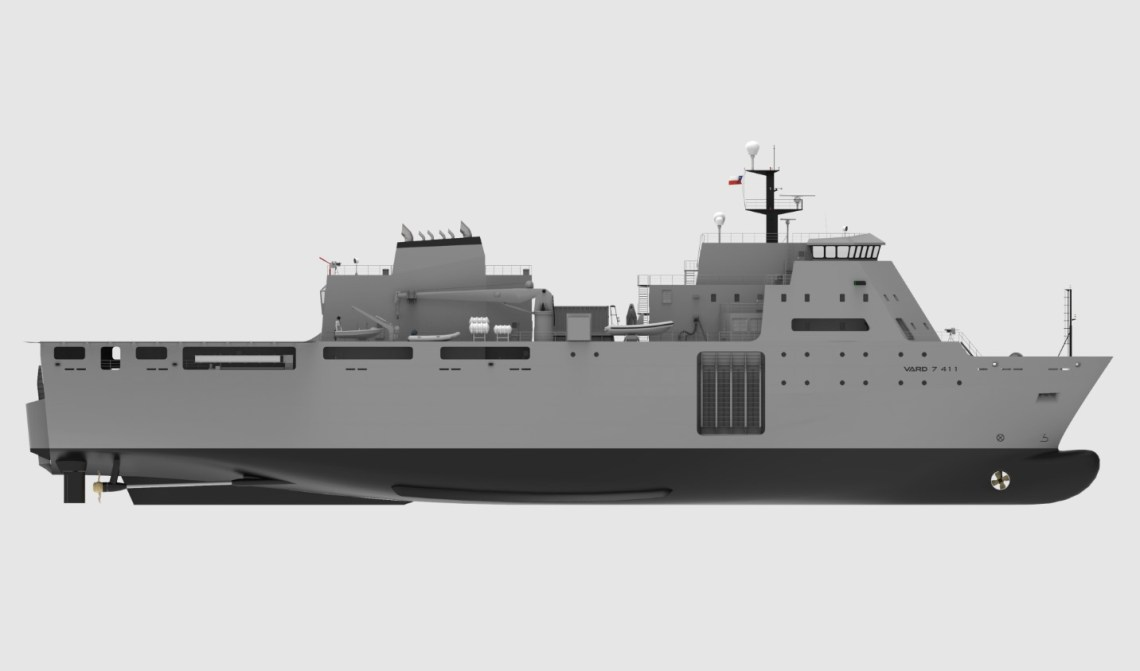 Vard Marine to Design Amphibious and Military Transport Vessel for Chilean Navy