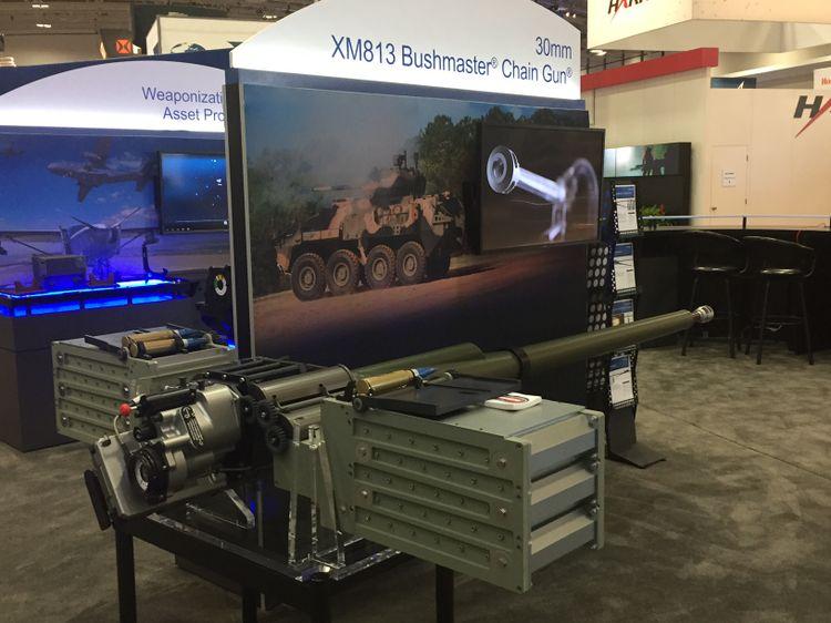 XM813 Bushmaster Chain Gun