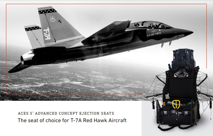 Boeing T-7A Red Hawk Successfully Tests CollinsAero Aces 5 Aircrew Ejection Seat