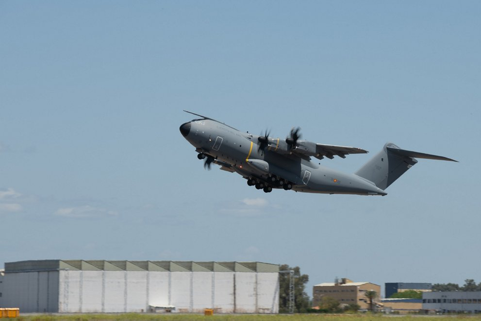 Airbus A400M Atlas Tactical Airlift