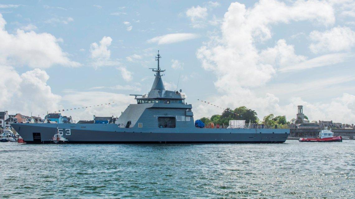 Argentine Offshore Patrol Vessel 87 (OPV 87)