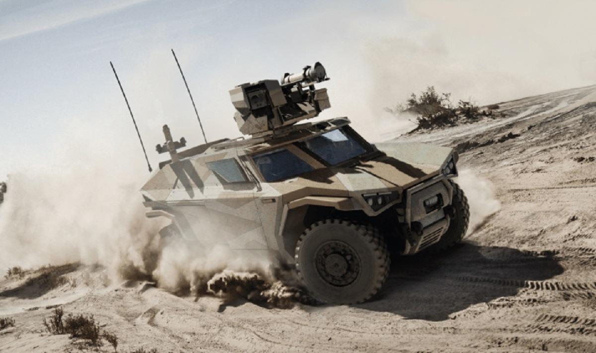 Arquus Unveils Scarabee PATSAS 4x4 Light Armoured Vehicle