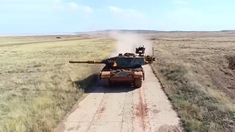 ASELSAN Uses VOLKAN-M Firing Control System for Turkish M60-TM Tank