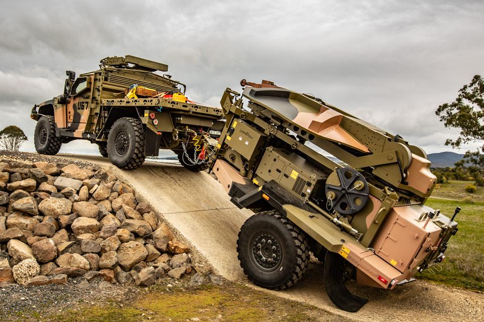 Boeing Defence Australia Delivers Trailer-mounted Medium SATCOM Terminal (MST)