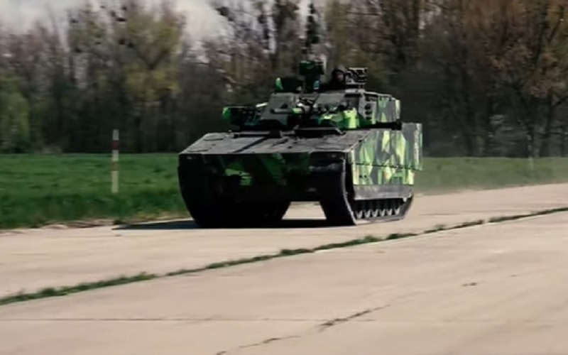 BAE Systems CV90 Infantry Fighting Vehicle