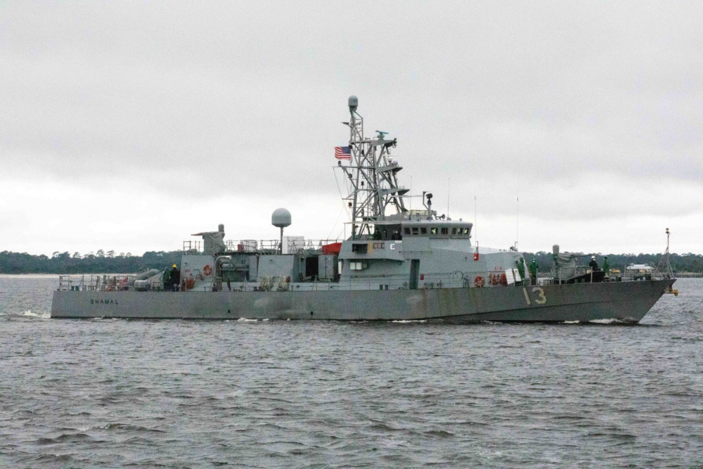 Cyclone-class patrol coastal ship USS Shamal (PC 13)