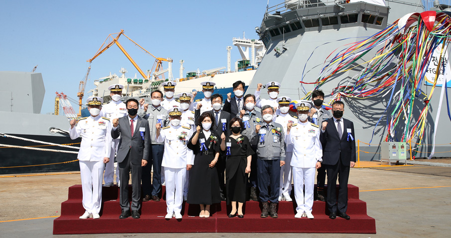 DSME Launches ROKS Daejeon (FFG-823) for Republic of Korea Navy (ROK Navy)