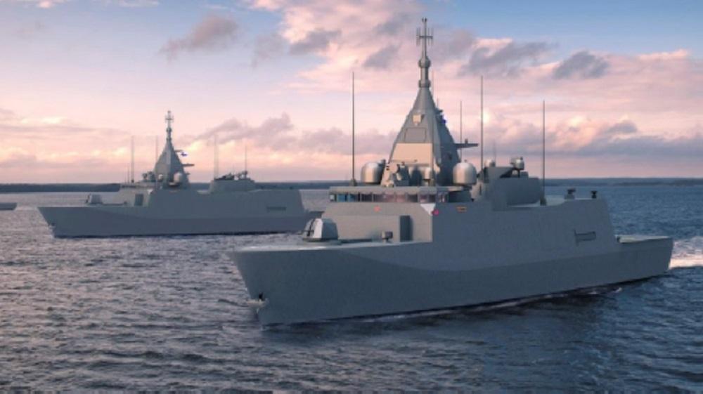 Finnish Navy Pohjanmaa-Class Corvettes