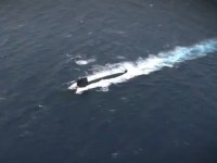 French Navy Fires Exocet SM39 Submarine-launched Cruise Missile
