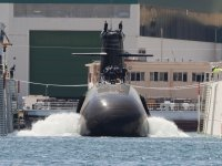 Future Spanish Navy Submarine Isaac Peral S-80 Floated Out at Navantia Shipyard