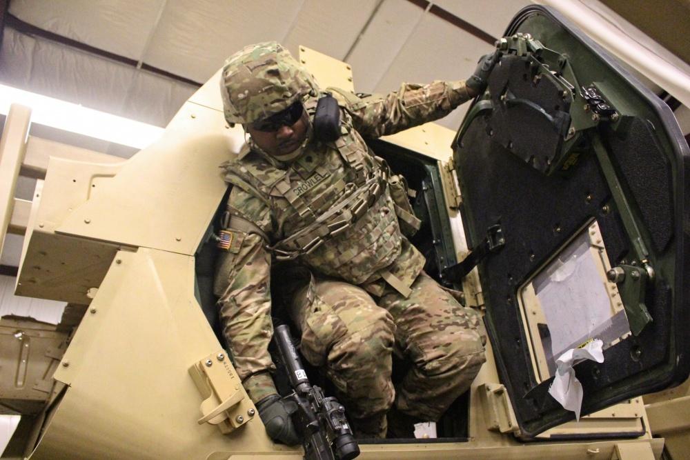Humvee Egress Assistance Trainer (HEAT)