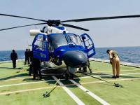 Hindustan Aeronautics Limited's (HAL) Advanced Light Helicopter Dhruv Mk III MR