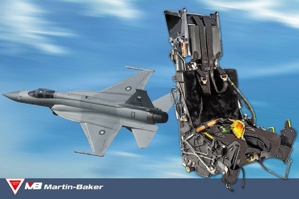Martin-Baker PK16LE ejection seats for the JF-17.