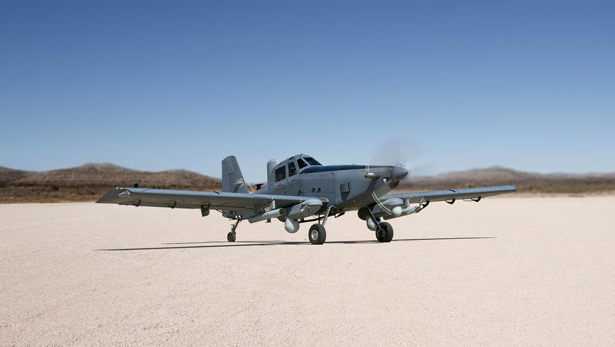 L3Harris Technologies and Air Tractor to Develop AT-802U Sky Warden ISR Aircraft