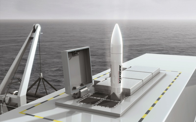 MBDA Awarded Sea Ceptor Contract for Royal Navy Type 31 Frigates
