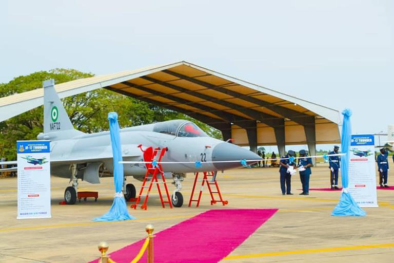 Nigerian Air Force Inducts JF-17 Thunder Multirole Combat Aircraft