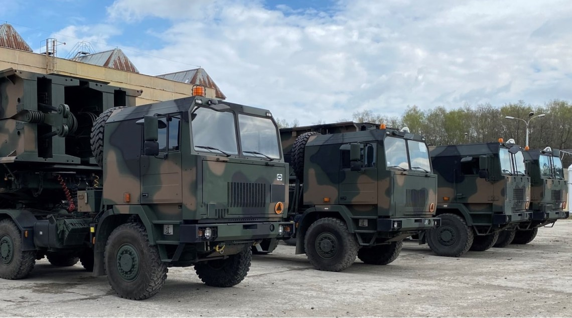 Polish Army MS-20 Daglezja Towed Support Mobile Bridge