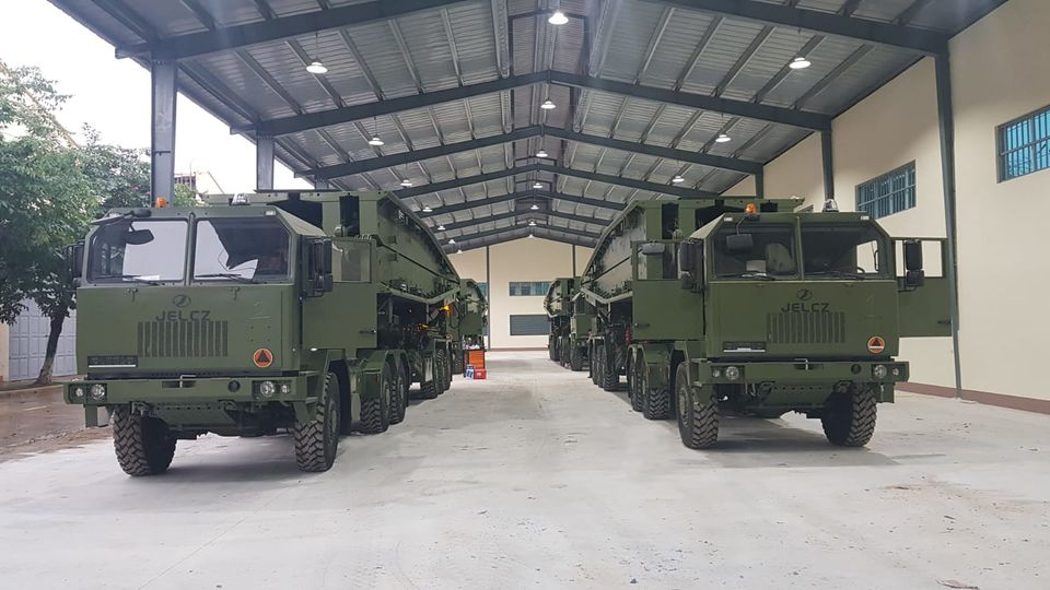 People's Army of Vietnam Acquired Polish MS-20 Daglezja Towed Support Mobile Bridge