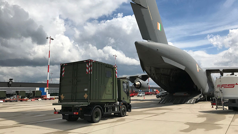 Raytheon Delivers Oxygen Trucks to Support COVID-19 Relief in India