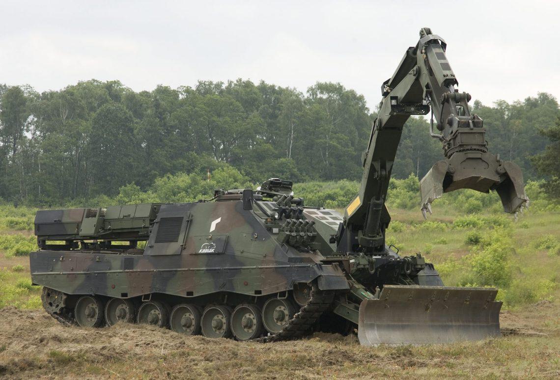 Pionierpanzer 3 Kodiak Armoured Combat Engineer Vehicle