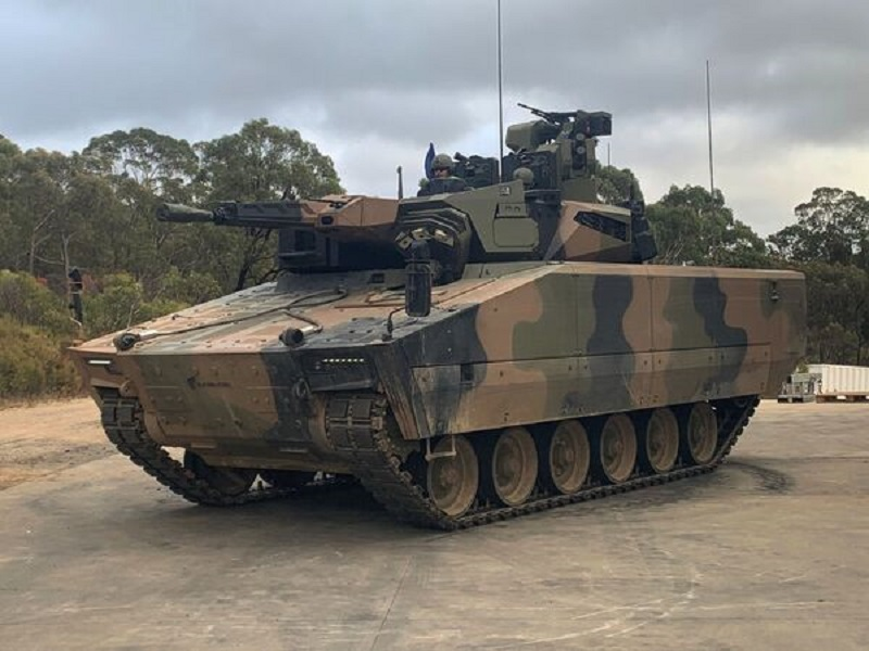 Rheinmetall Partners with Cook Defence Systems Tracks for LYNX IFVs on Trial in Australia