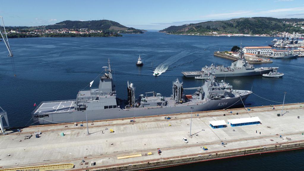 Royal Australian Navy's second Supply Class Auxiliary Oiler Replenishment ship
