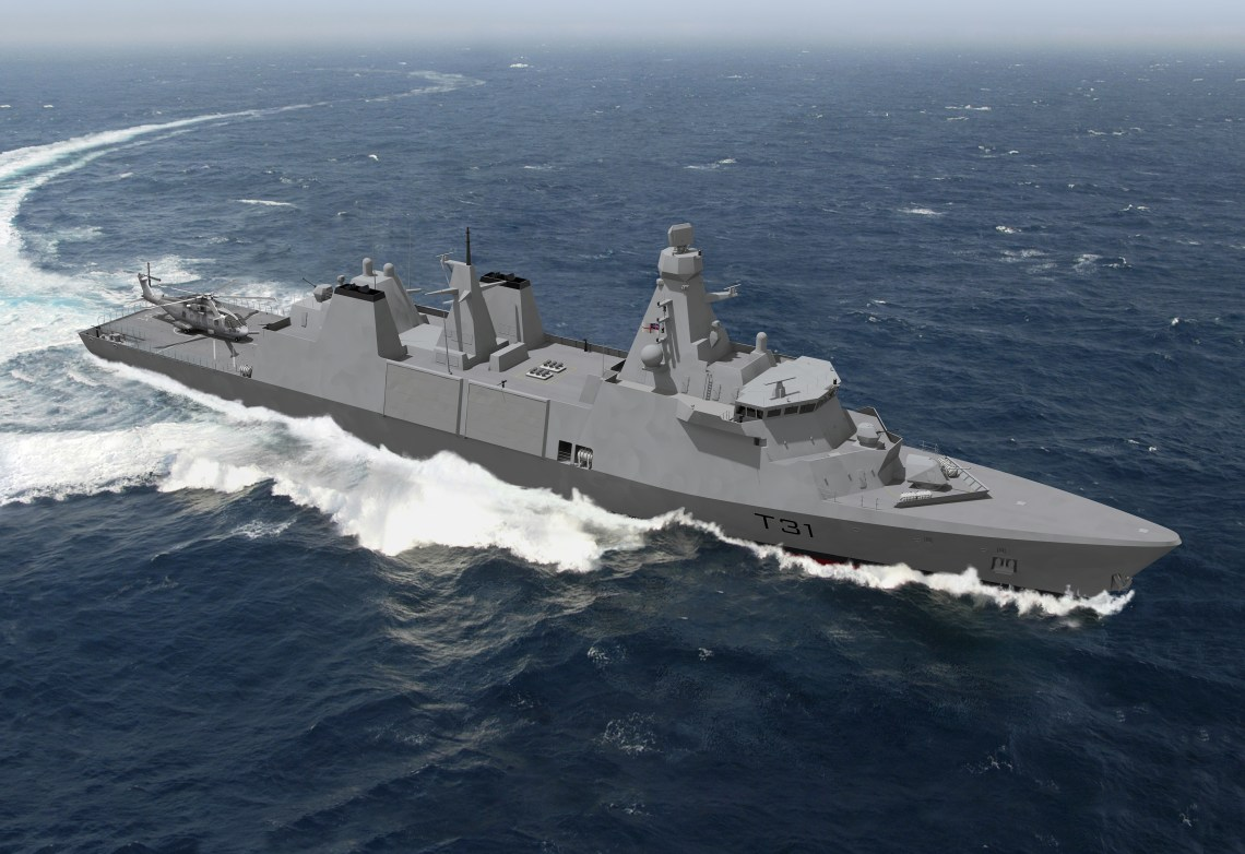 Royal Navy Type 31 Inspiration-Class Frigates