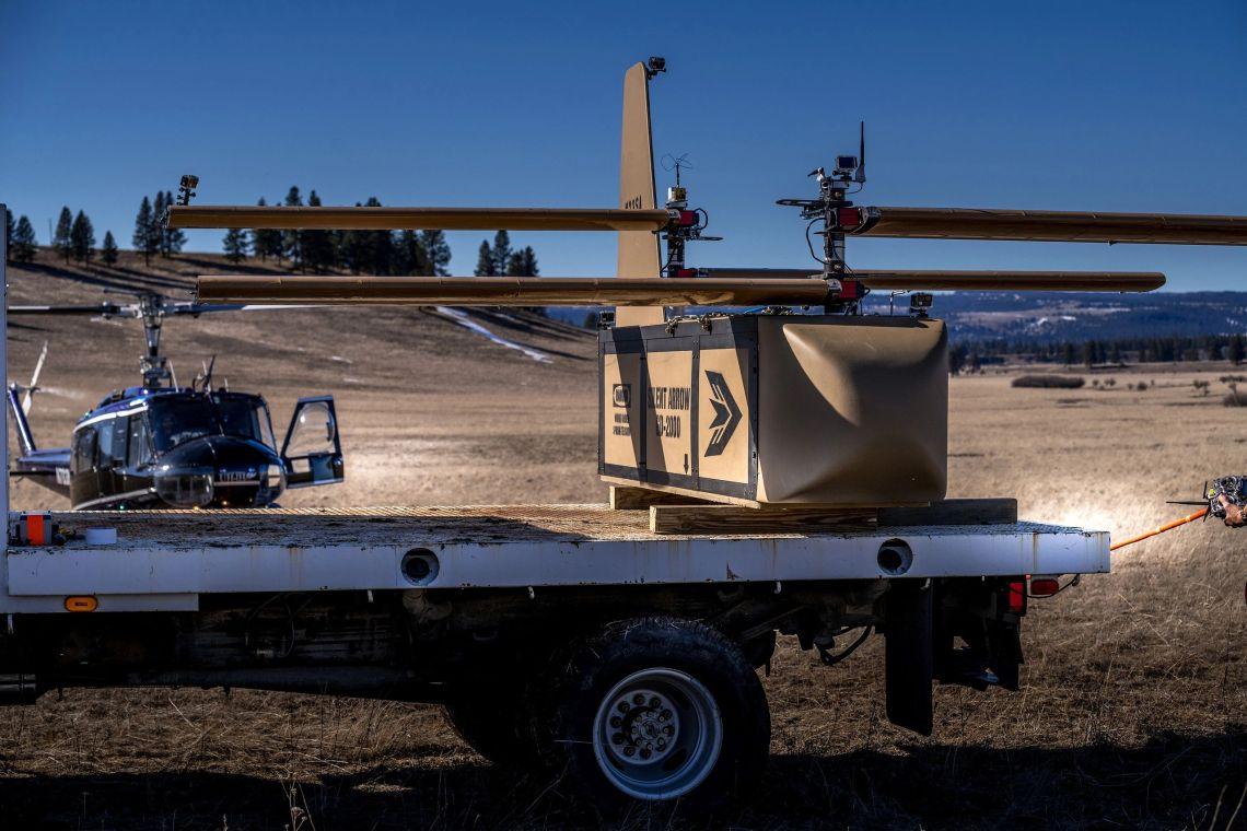 Silent Arrow 1-Ton Autonomous Cargo Delivery