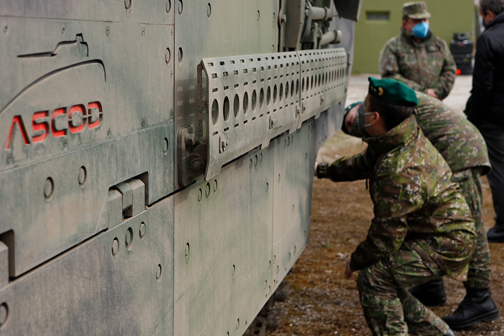 General Dynamics European Land Systems (GDELS) ASCOD Infantry Fighting Vehicle