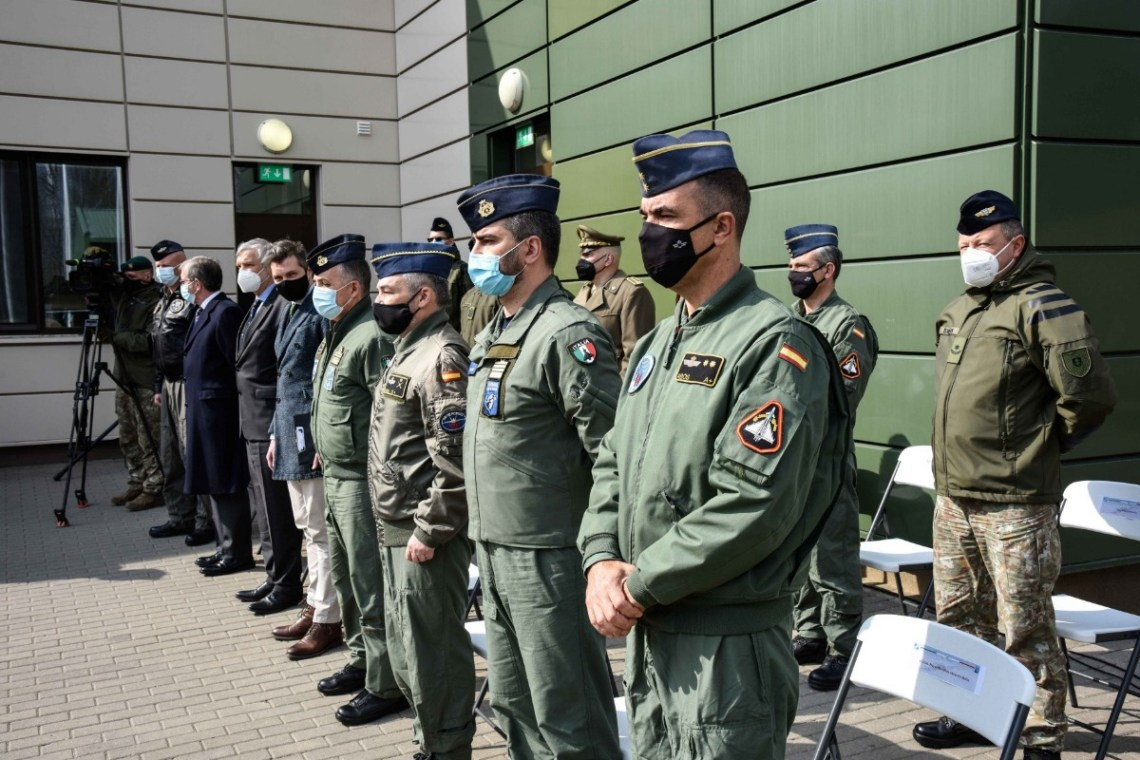 Spanish Air Force Takes Lead from Italian Air Force for NATO Baltic Air Policing