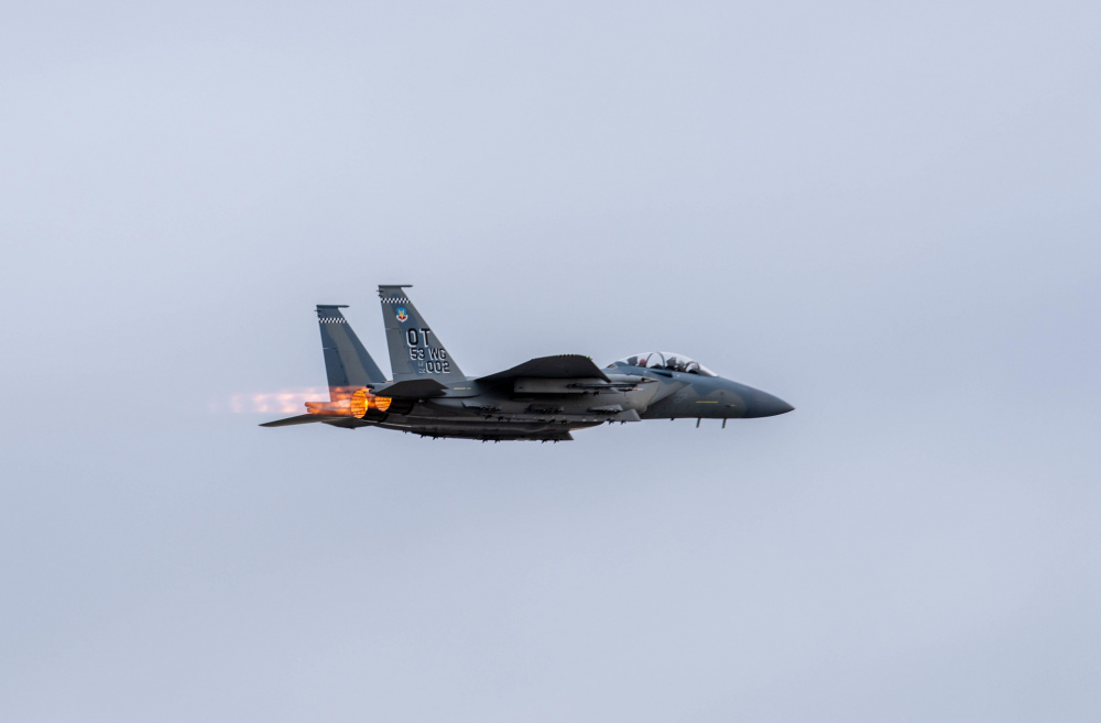 US Air Force Boeing F-15EX Eagle II Takes to Alaska Skies for Deep End Test