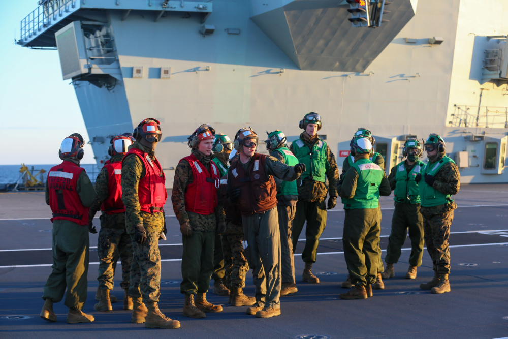 US and UK Special Relationship Strengthened by Carrier Strike Group 21 (CSG-21) Deployment