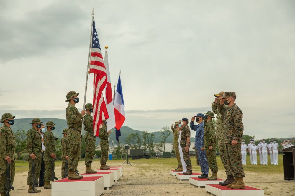 US, Japanese, French and Australian military commence exercise Jeanne D'Arc 21