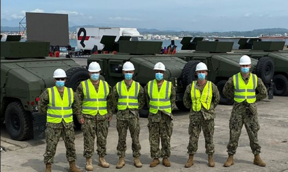 US Navy Military Sealift Command in Europe Enables DEFENDER-Europe 21