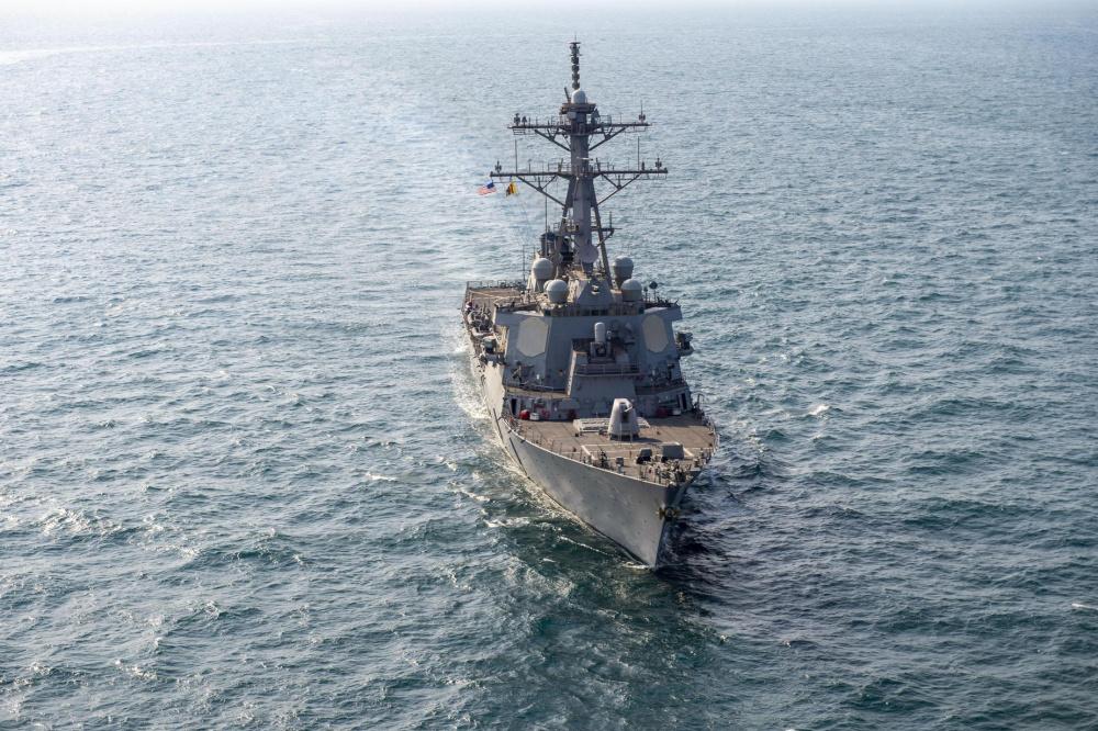 Guided-missile destroyer USS John Paul Jones (DDG 53)