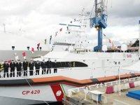 Italian Coast Guard Natale De Grazia (CP420) patrol boat