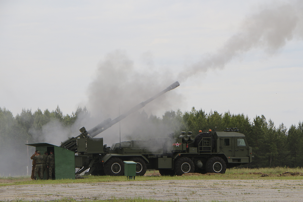 2S43 Malva Self-Propelled Howitzer