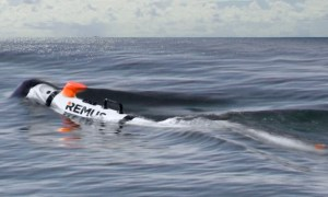 Huntington Ingalls Industries REMUS 300 unmanned underwater vehicle (UUV)
