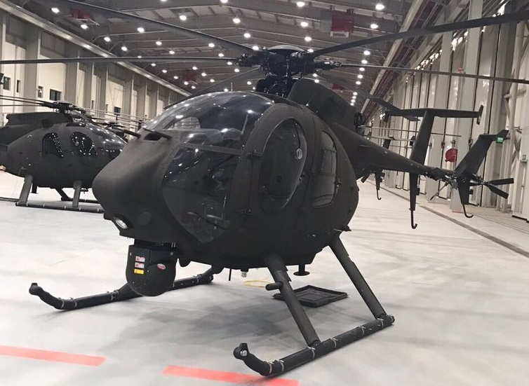 Boeing AH-6SA Little Bird Helicopter