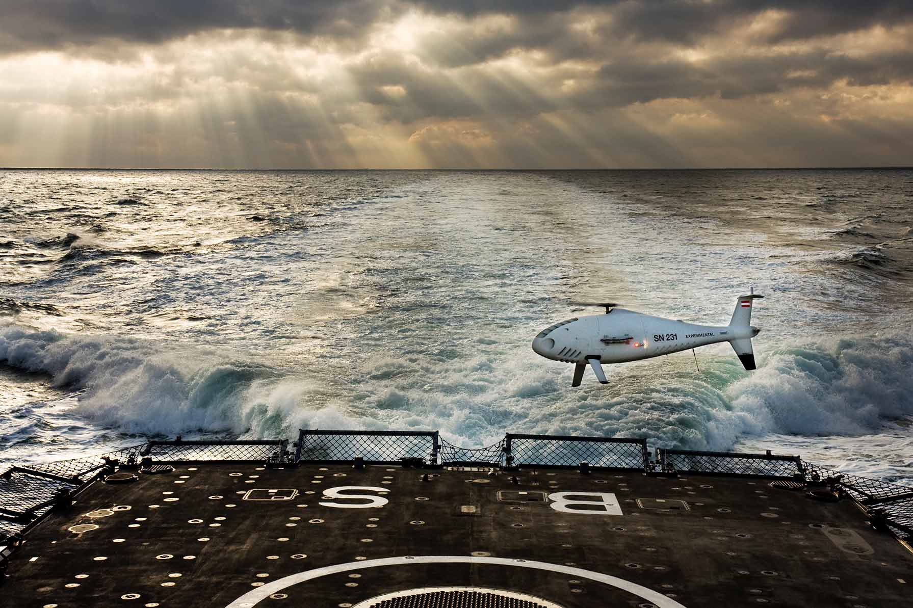 Schiebel's CAMCOPTER S-100 Unmanned Air System