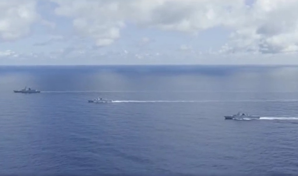 Chinese PLAN Flotilla Wraps Up Exercise After Joint Training with Indonesian Navy